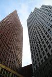 Edificios del ministerio en el centro de Den Haag The Hague como nueva construcción céntrica fotos de archivo libres de regalías