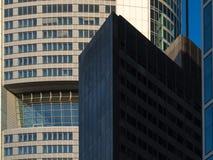 Edificios del negocio en el distrito financiero de Francfort, germen Fotografía de archivo libre de regalías