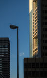 Edificios del negocio en el distrito financiero de Francfort, germen Fotografía de archivo