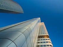 Edificios del negocio en el distrito financiero del franco Fotografía de archivo libre de regalías