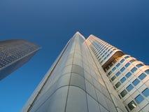 Edificios del negocio en el distrito financiero del franco Imágenes de archivo libres de regalías