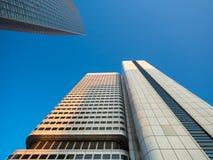 Edificios del negocio en el distrito financiero del franco Foto de archivo libre de regalías