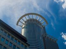 Edificios del negocio (torre de Westend) en el distrito financiero de Francfort, germen Imágenes de archivo libres de regalías