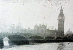Edificios del parlamento en Londres Reino Unido Imágenes de archivo libres de regalías