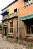 Edificios del parque de la película de Shangai Fotos de archivo libres de regalías