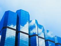 Edificios del vidrio Fotos de archivo