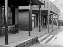 Edificios dilapidados del viejo oeste Fotografía de archivo libre de regalías