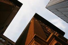 Edificios elevados Imagen de archivo libre de regalías