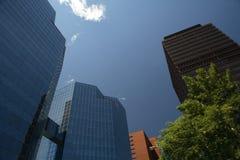 Edificios elevados de Hamilton Imagen de archivo libre de regalías