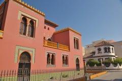 Edificios en Almunecar fotos de archivo libres de regalías
