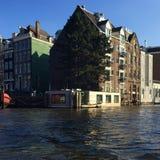 Edificios en Amsterdam Imagen de archivo libre de regalías