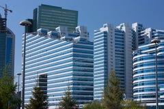 Edificios en Astana foto de archivo libre de regalías