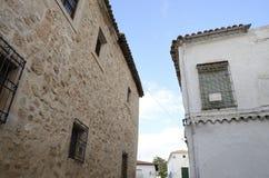 Edificios en Belmonte Imagen de archivo