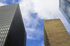 Edificios en ciudad Fotografía de archivo libre de regalías