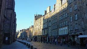 Edificios en Edimburgo Imágenes de archivo libres de regalías