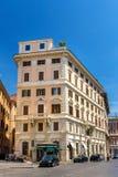 Edificios en el centro de ciudad de Roma Fotografía de archivo
