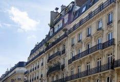 Edificios en el 2do arrondissement en París Fotografía de archivo