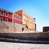 Edificios en el top fotos de archivo libres de regalías