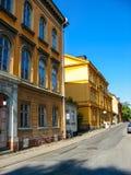 Edificios en Estocolmo (Suecia) fotografía de archivo