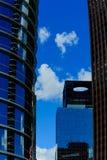 Edificios en Houston céntrica Fotografía de archivo libre de regalías
