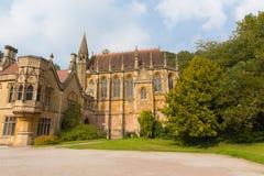 Edificios en la casa Wraxhall Somerset England del norte Reino Unido de Tyntesfield Fotos de archivo