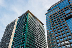 Edificios en la ciudad Fotografía de archivo libre de regalías