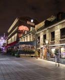 Edificios en la ciudad vieja Montreal Fotos de archivo