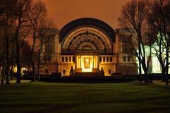 Edificios en la colección 4 de la noche Imagen de archivo libre de regalías