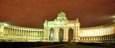 Edificios en la colección 7 de la noche Imágenes de archivo libres de regalías