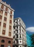 Edificios en La Habana, Cuba imagen de archivo libre de regalías