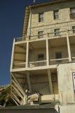 Edificios en la isla de alcatraz foto de archivo libre de regalías