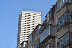 Edificios en Los Ángeles céntrico #1 Foto de archivo