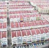 Edificios en Malaca imagen de archivo libre de regalías