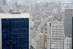 Edificios en Manhattan Foto de archivo
