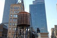 Edificios en Manhattan Imagen de archivo