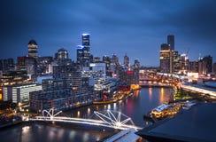 Edificios en Melbourne Fotos de archivo