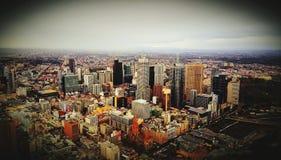 Edificios en Melbourne imagen de archivo