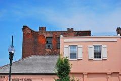 Edificios en New Orleans Fotos de archivo libres de regalías