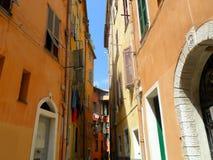 Edificios en Niza, Francia Imágenes de archivo libres de regalías