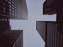 Edificios en Nueva York Imagenes de archivo