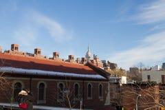 Edificios en Nueva York Fotos de archivo libres de regalías