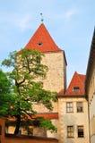 Edificios en Praga imágenes de archivo libres de regalías
