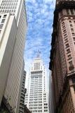 Edificios en Sao Paulo céntrica Foto de archivo libre de regalías