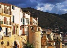 Edificios en Sicilia Fotos de archivo
