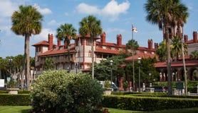 Edificios en St Augustine Florida Foto de archivo libre de regalías