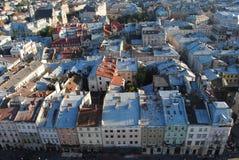Edificios europeos foto de archivo libre de regalías