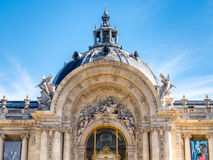 Edificios europeos en París Imagen de archivo libre de regalías