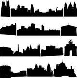 Edificios famosos de Gran Bretaña. stock de ilustración