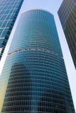Edificios financieros Imágenes de archivo libres de regalías