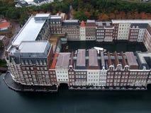 Edificios flotantes Fotografía de archivo libre de regalías